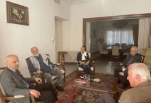 Photo of Представители Союза армянских писателей Ирана посетили посольство Армении в Иране