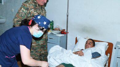 Photo of Камо Варданян посетил раненых военнослужащих