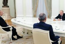 Photo of Պեսկովը՝ Ռուսաստան-Հայաստան-Ադրբեջան գագաթնաժողովի եւ հնարավոր եռակողմ հայտարարության մասին
