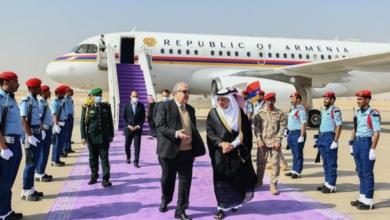 Photo of Исторический визит президента Армении в Саудовскую Аравию