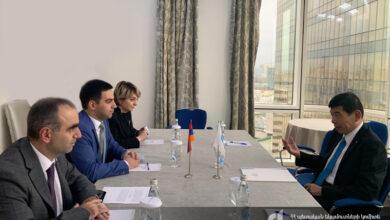 Photo of ՊԵԿ նախագահը Մոսկվայում հանդիպել է Համաշխարհային մաքսային կազմակերպության գլխավոր քարտուղարի հետ