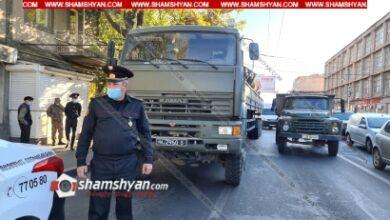 Photo of Մահվան ելքով վրաերթ՝ Երևանում. ՊՆ համարանիշներով КамАЗ-ը վրաերթի է  ենթարկել հետիոտնին