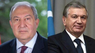 Photo of Նախագահ Արմեն Սարգսյանը շնորհավորել է Ուզբեկստանի նախագահին վերընտրվելու կապակցությամբ