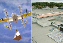 Photo of Wing ԱԹՍ-ներն ապրանք են առաքում անմիջապես առևտրի կենտրոնների տանիքներից