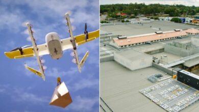 Photo of Дроны Wing доставят товары с крыши торговых центров
