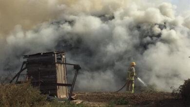 Photo of Երասխ գյուղում այրվել է մոտ 8000 հակ անասնակեր