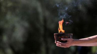 Photo of В древней Олимпии зажгут огонь Олимпийских игр Пекина