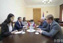 Photo of ԱԺ նախագահի տեղակալ Իշխան Սաղաթելյանն ընդունել է ՀՀ-ում ՌԴ արտակարգ եւ լիազոր դեսպանին