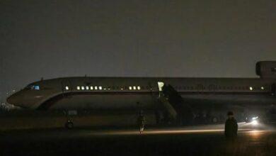 Photo of Самолет с пятью армянскими военнослужащими приземлился в аэропорту «Эребуни»