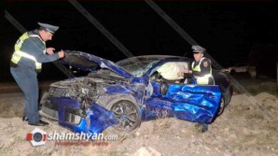 Photo of Ողբերգական ավտովթար Արմավիրի մարզում. բախվել են Kia-ն և Ford Transit-ը. կա 1 զոհ, 1 վիրավոր